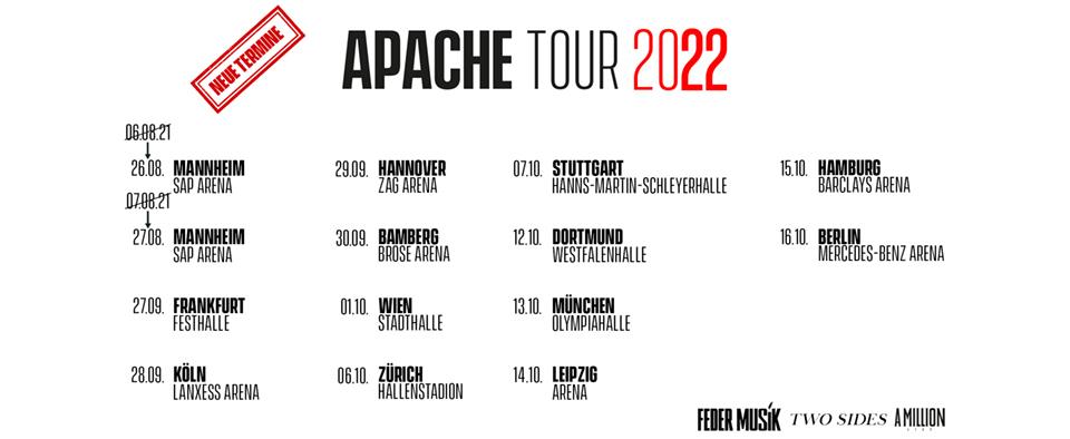 Apache 207 IBB Booking Agentur GmbH