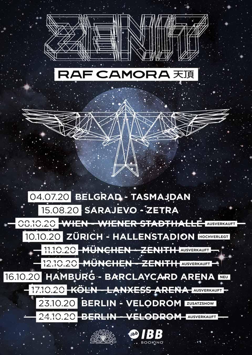 Raf Camora IBB Booking Agentur GmbH