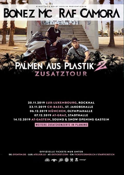 Palmen aus Plastik 2 IBB Booking Agentur GmbH